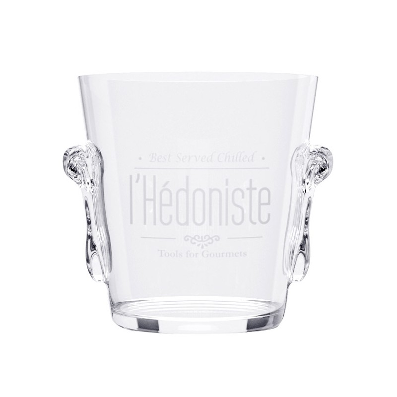 Secchiello in vetro per il ghiaccio - L'HÉDONISTE by BALVI
