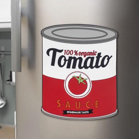 Sottopentola in silicone magnetico a forma di barattolo di salsa - TOMATO SAUCE by BALVI