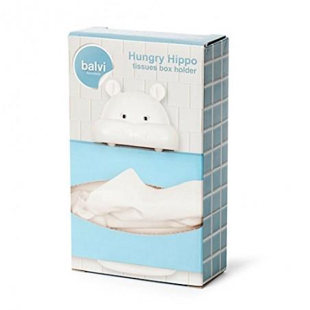 Supporto da parete per fazzoletti di carta - HUNGRY HIPPO by BALVI