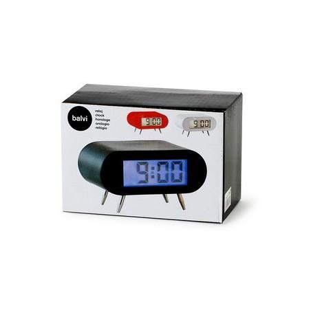 Sveglia digitale a batteria colore nero - BIPBIP by BALVI