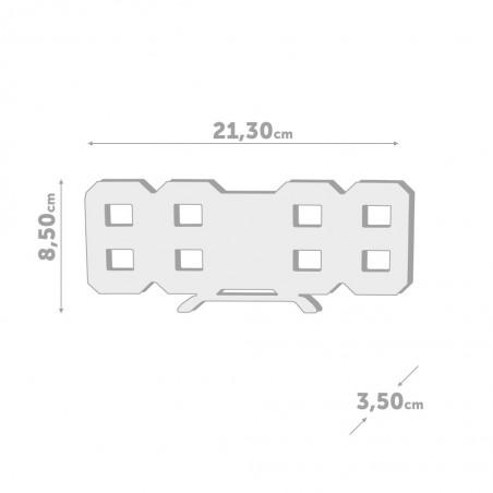 Orologio sveglia con luminosità manuale o automatica - DIGITAL by BALVI