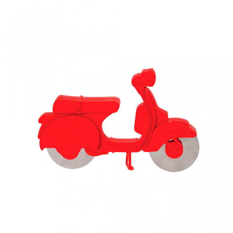 Tagliapizza doppia lama a forma di scooter - SCOOTER by BALVI