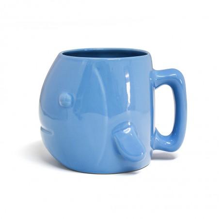 Tazza in ceramica colore azzurro a forma di pesce - AQUARIUM  by BALVI