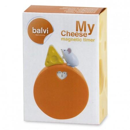 Timer magnetico con topolino e formaggio - MY CHEESE by BALVI