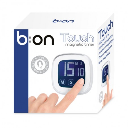 Timer digitale magnetico colore silver - TOUCH by BALVI