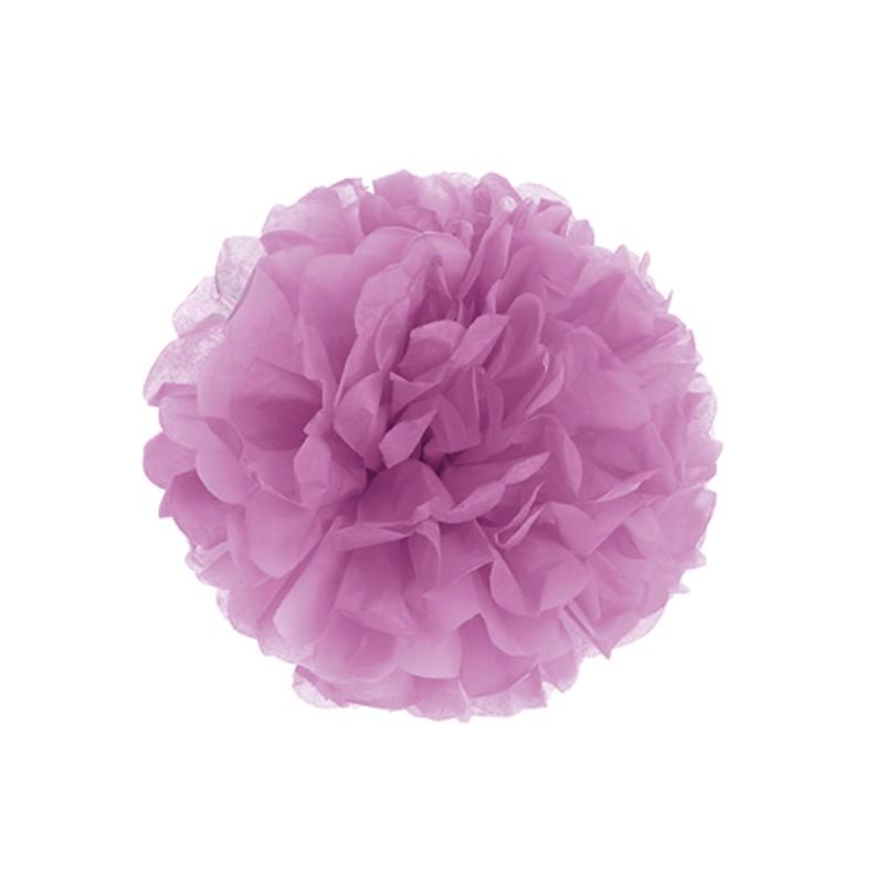 Fluffy in carta decorazione colore malva cm 30 - GIVI ITALIA