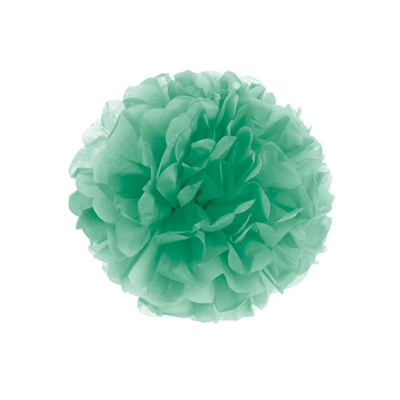 Fluffy in carta decorazione colore menta cm 30 - GIVI ITALIA