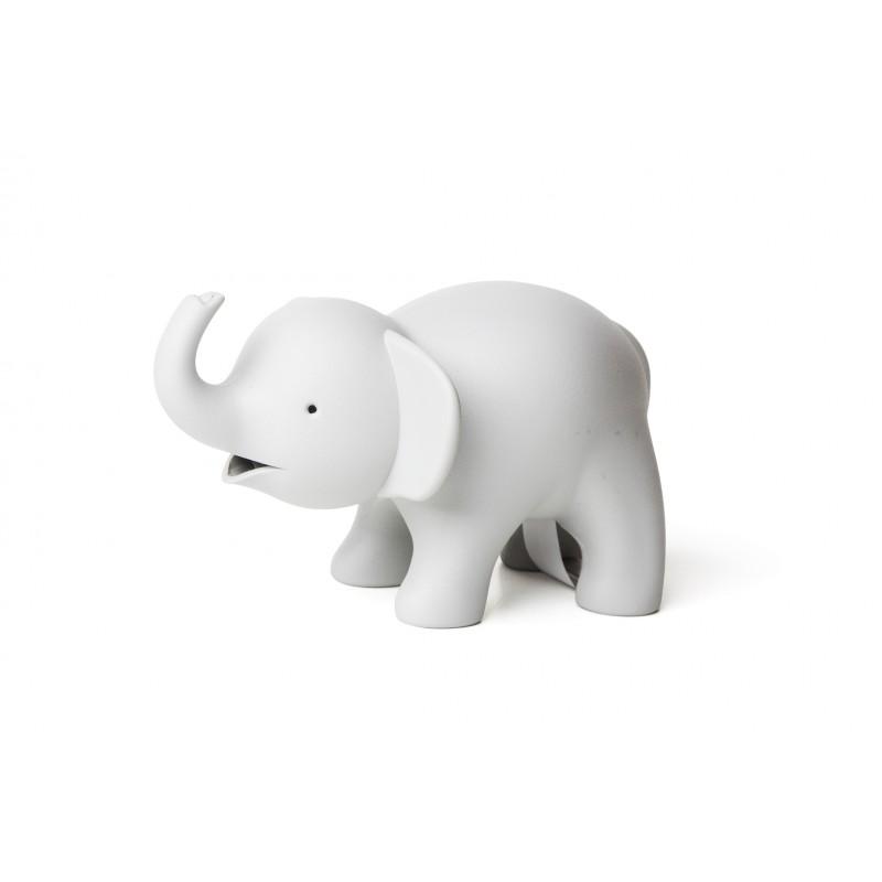 Dispenser nastro adesivo e porta graffette colore grigio - ELEPHANT by QUALY DESIGN