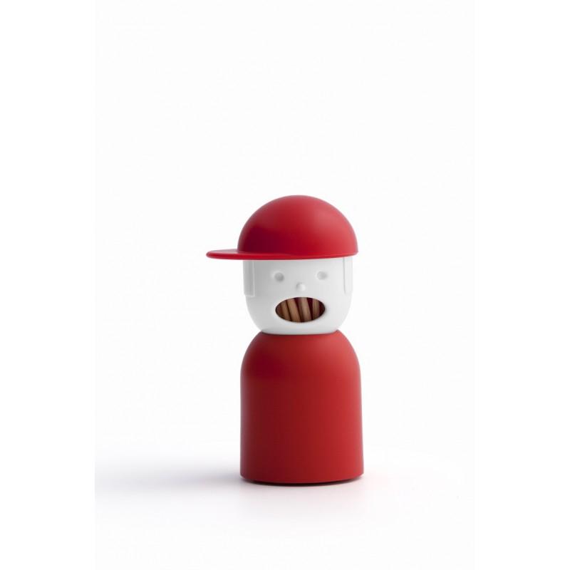 Dispenser portastuzzicadenti colore rosso - PICKY BOY by QUALY