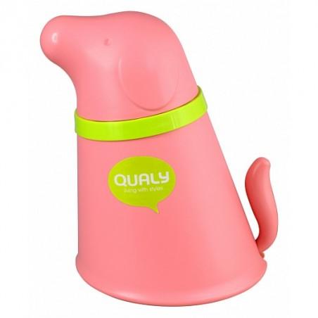 Contenitore per croccantini e ciotola colore rosa - PUPP PET BOWL by QUALY