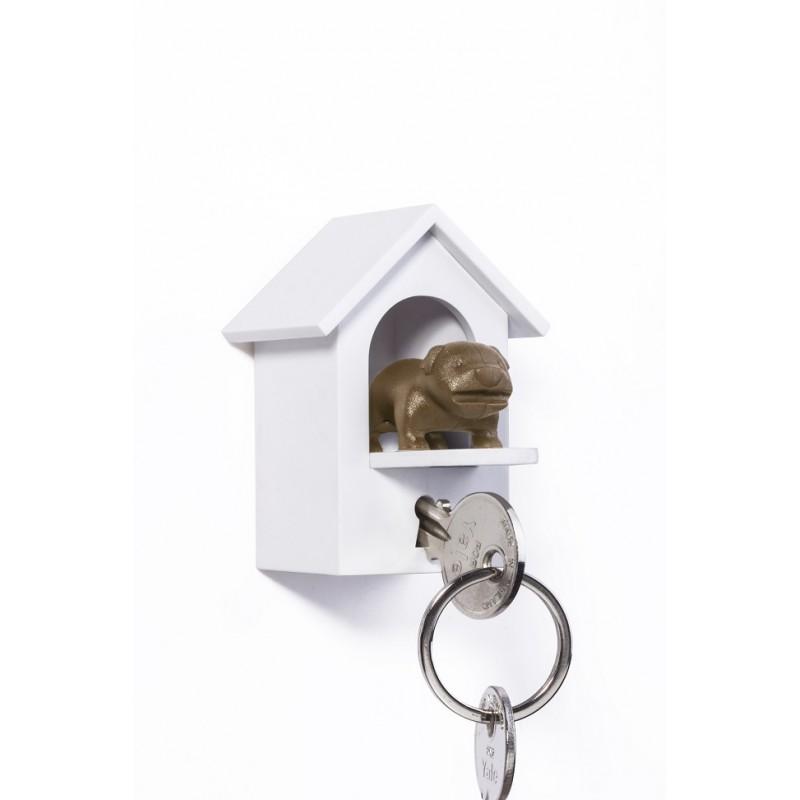 Portachiavi da parete casetta con cane - WATHDOG by QUALY