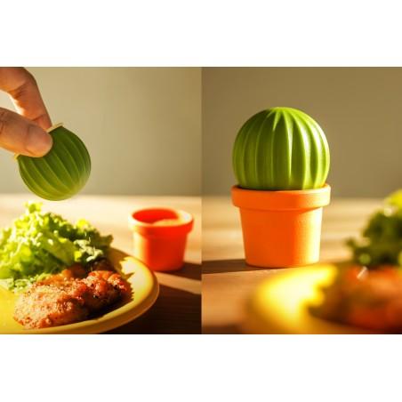 Set sale e pepe magnetico a forma di cactus - CACTUS by QUALY DESIGN