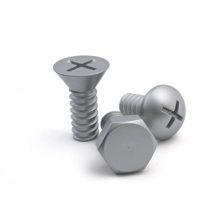 Ganci da parete a forma di viti 3 pz - SCREW COLLECTION by Qualy