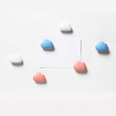 6 Calamite con nuvoletta mix di colori - CLOUD by QUALY DESIGN