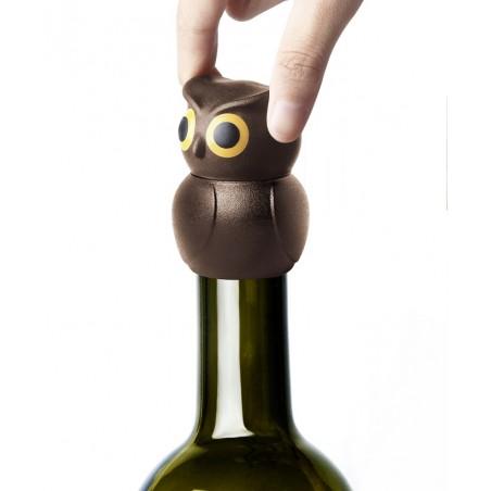 Tappo ermetico per bottiglia in 2 alternative colore - OWL by QUALY