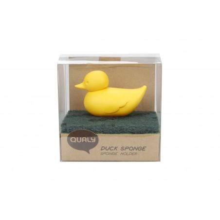 Portaspugna da appendere per anta o parete colore giallo - DUCK by QUALY