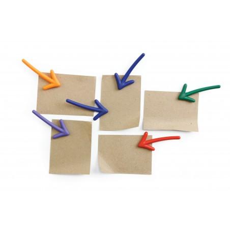 6 Calamite a forma di frecce colori assortiti - ARROW by QUALY