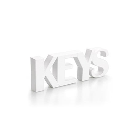 Portachiavi da parete magnetico in 2 alternative di colore - KEYS by QUALY