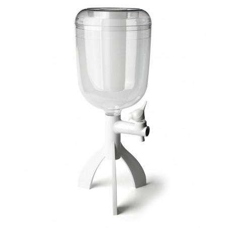 Distributore di acqua con rubinetto 3L colore bianco -  THIRSTY BIG