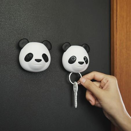 Gancio portachiavi da parete con movimento occhi - PANDA by QUALY DESIGN
