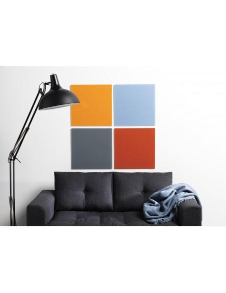 Lavagna magnetica in vetro cm 45x45 colore grigio - by NAGA