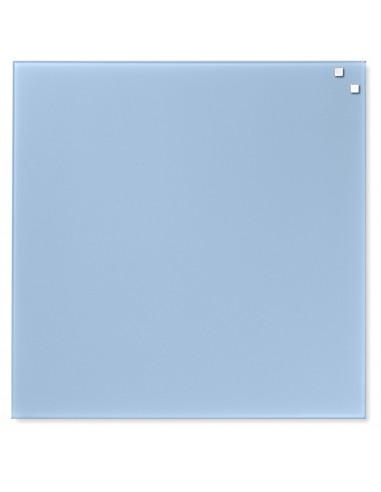 Lavagna magnetica in vetro cm 45x45 colore azzurro - by NAGA