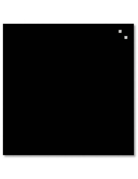 Lavagna magnetica in vetro cm 45x45 colore nero - by NAGA