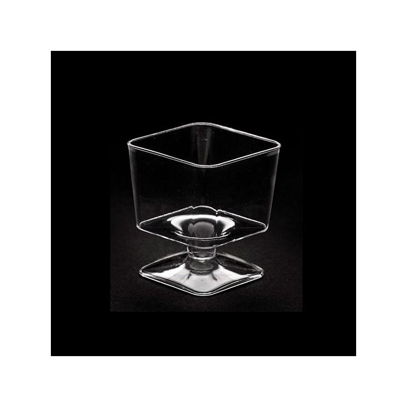 20 Mini bicchieri quadrati da degustazione 60 cc - Givi Italia