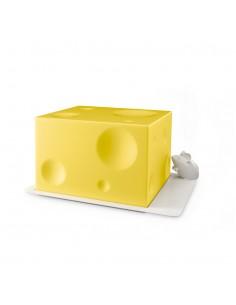 Porta formaggio con coperchio ABS - I LOVE CHEESE by Balvi