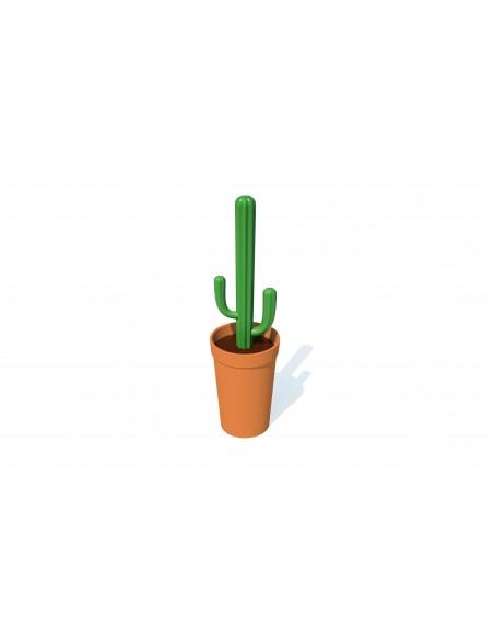 Spazzola per wc cactus 2 alternative colore - CACBRUSH by QUALY DESIGN