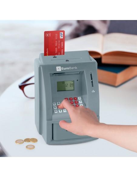Salvadanaio con scheda e pin bancomat - EUROBANK by Balvi