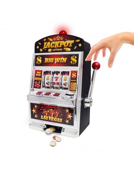 Gioco sonoro slot machine e salvadanaio - LAS VEGAS by Balvi