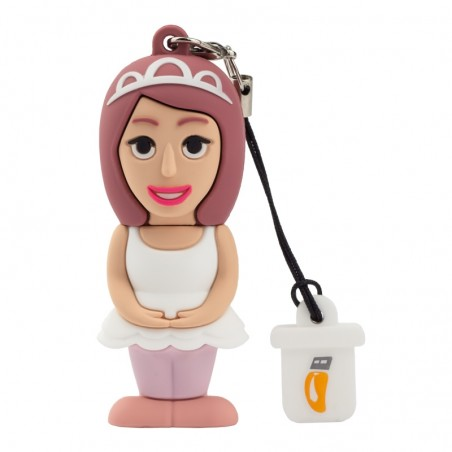 Pendrive ballerina 8 GB - BY PROFESSIONAL USB