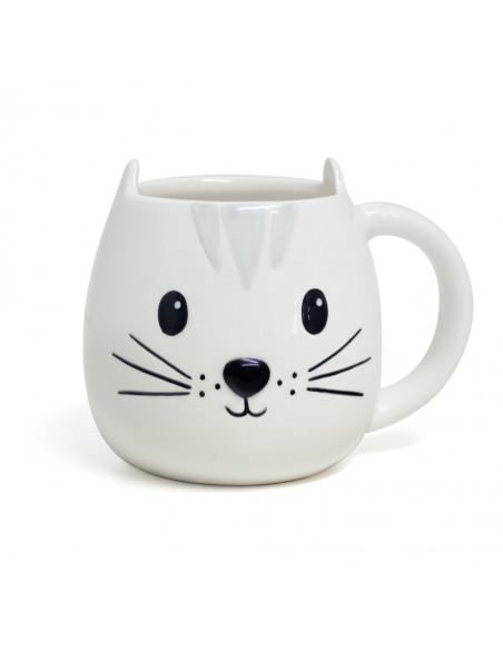 Tazza mug ceramica gatto 400 ml - KATY Balvi