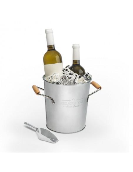 Secchiello ghiaccio e raffredda vino con paletta - GRAND VI by Balvi