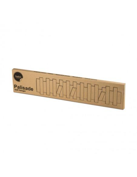 Appendino da parete richiudibile bamboo chiaro - PALISADE by Balvi