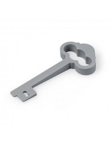 Fermaporta e salvamaniglia chiave colore grigio - MY CASTLE by Balvi