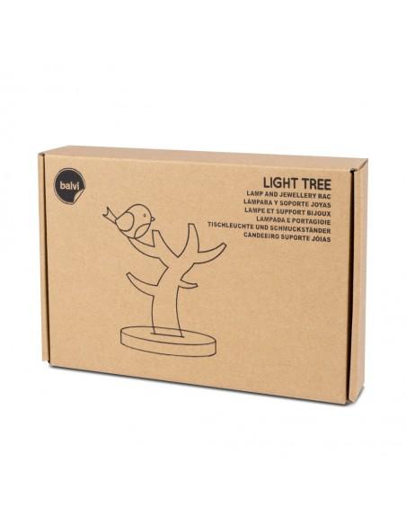 Lampada usb e portagioie forma di albero - LIGHT TREE by Balvi