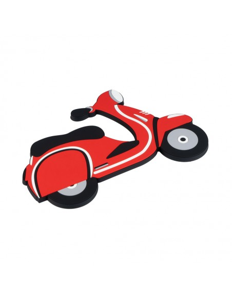 Sottopentola magnetico a forma di scooter in silicone - SCOOTER by Balvi