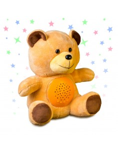Peluche orsetto luminoso e musicale - TEDDY by Balvi