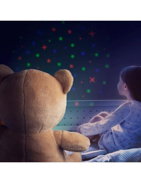 Peluche orsetto luminoso e musicale - TEDDY by Balvi