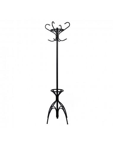 Appendiabiti stile retrò in metallo colore nero - 1890 by Balvi