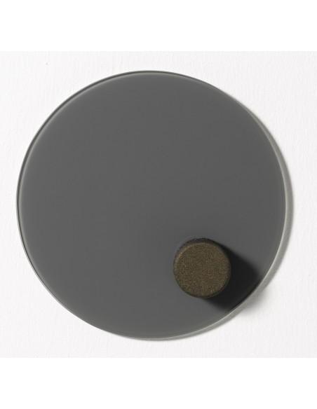 Cancellino circolare magnetico per lavagna in vetro - NORD by Naga