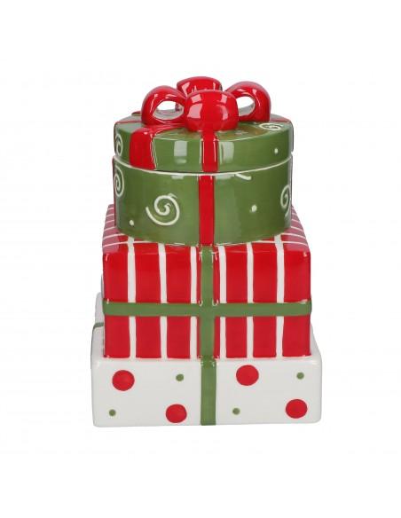Biscottiera in ceramica pacchetti regalo - SORPRENDIMI by Rituali Domestici