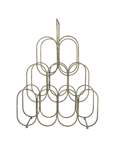 Portabottiglie in metallo h 56 cm - RADICATO by Rituali Domestici