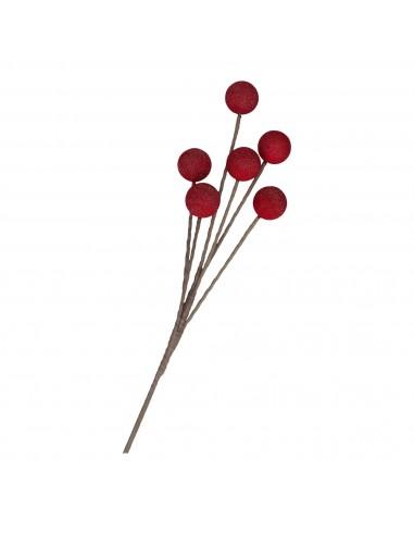 Fiore artificiale Ledyemma rosso h 90 cm - FLORA by Rituali Domestici