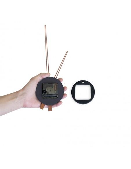 Orologio da parete nero adesivo diam. 100 cm - MOMENTUM by Balvi