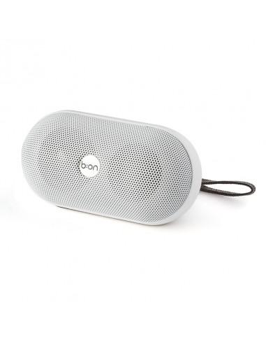 Speaker bluetooth con radio ricaricabile colore bianco - ELLIPSE by Balvi