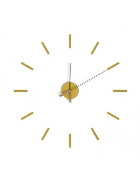 Orologio da parete diam. fino a 100 cm giallo - STICK TACK by Balvi