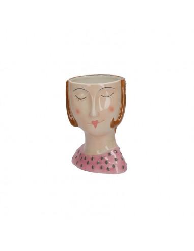 Portavaso in ceramica h 16 cm Teresa - IROBINSON by Rituali Domestici